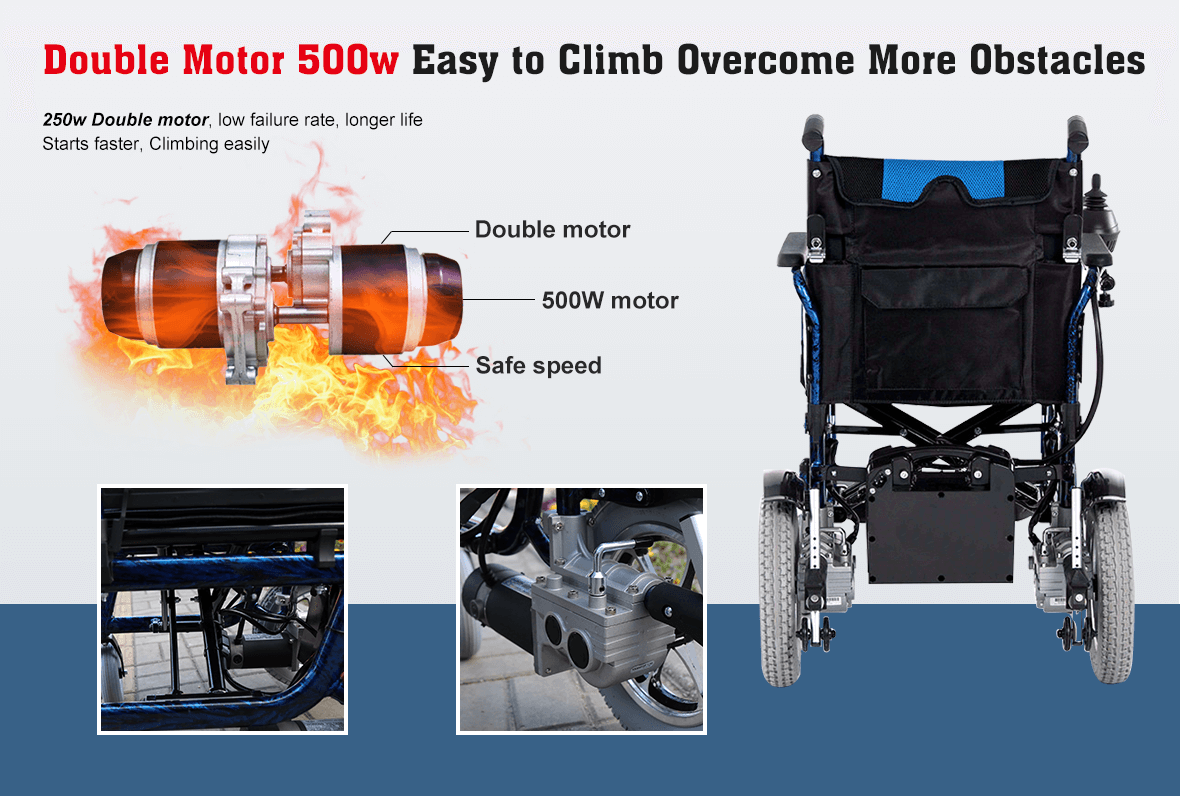 electric wheelchair motor
