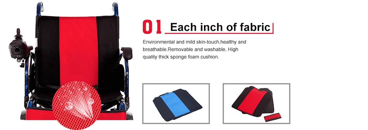 electric wheelchair backrest