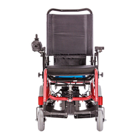 Wofftown115 Stable Unfolded Power Mobility Wheelchair