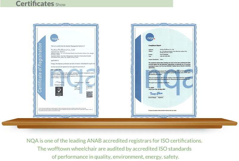 10 Wofftown folding electric certificate